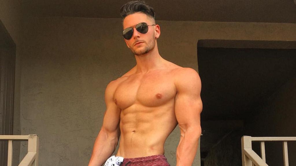 Handsome Jerdani Kraja IFBB Pro Marine Naked